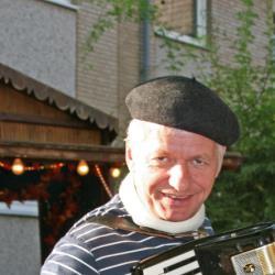 L`accordeoniste Martin Gehrmann
