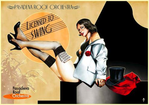 Pasadena Roof Orchestra - Licensed To Swing (Artwork by Timo Wuertz)