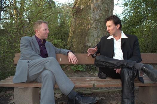 Stefan und Frank im Gespräch