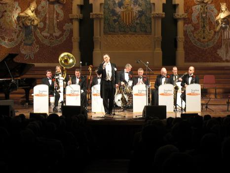 Pasadena Roof Orchestra - El Palau de la Musica, Barcelona